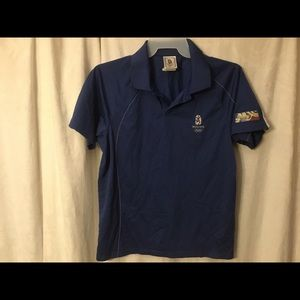 Vintage Beijing Olympics 2008 Adidas Polo Shirt
